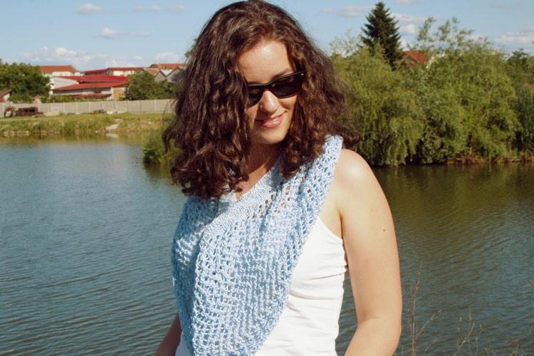 sal de plaja tricotat 6